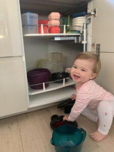 momsarahwithlove tupperware potjes bewaren voeding eten happy baby